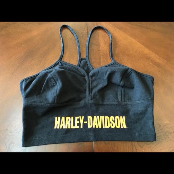9cb480064c3037 Harley-Davidson Tops - Harley Davidson! BNWOT! Bra Top! Size Large